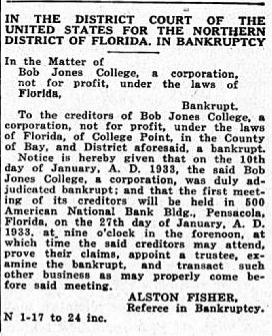 January, 1933